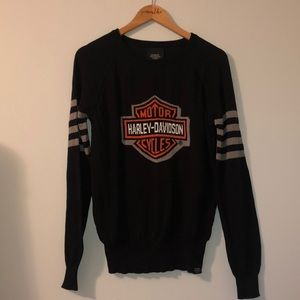 Soft knit Harley Davidson sweater